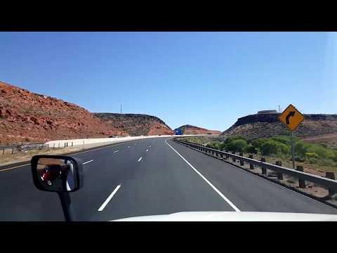 BigRigTravels LIVE! St George to Richfield, Utah-Interstates 15 and 70 June 30, 2017