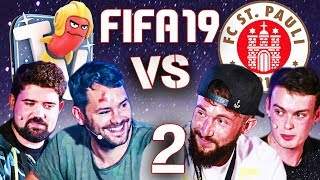 St. Pauli vs. RBTV in FIFA 19 #2 mit Gunnar, Marvin Knoll, Niko Backspin & der Community