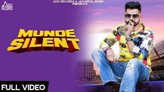 Munde Silent Full HD Safi Zeffrozzer New Punjabi Songs Punjabi Songs Jass Records