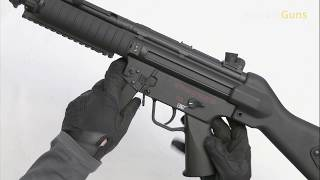 MP5A4, RIS, Cyma, CM.041B, Airsoft, Recenze, Review, Unboxing, Test