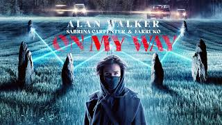Alan Walker, Sabrina Carpenter & Farruko - On My Way (Studio Acapella)