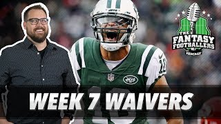 Fantasy Football 2018 - Week 7 Waivers & QB Streamers, Jason Gets His Groove Back - Ep. #629