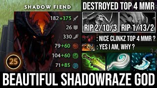 Next Level Triple Raze + Beautiful Plays | NEW SF God Destroyed Top 4 MMR with 10Min Eul