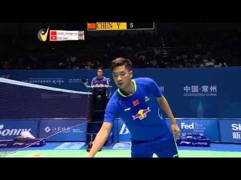 Wang Zhengming vs Wei Nan   MS SF Match 2 - Bonny China Masters 2015
