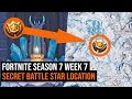 Fortnite Season 7 Week 7 Secret Battle Star Location