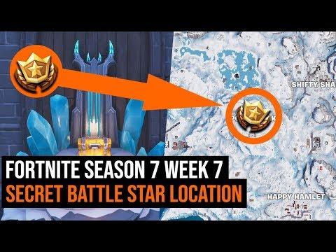 Fortnite Season 7 Week 7 Secret Battle Star Location