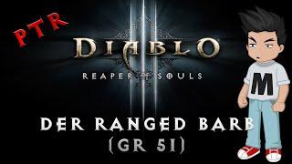 [Diablo 3] Der Ranged Barb (Seismisches Schmettern Build) - PTR 2.2 (Deutsch / German)