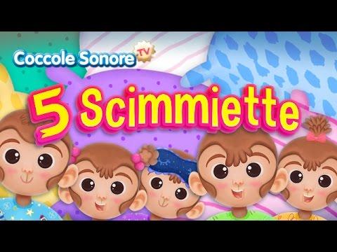 Testo canzone 5 scimmiette