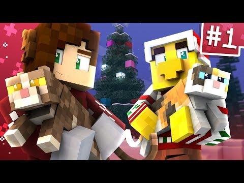 Pushing Christmas Cats w/ Sqaishey! | Minecraft Advent Calendar