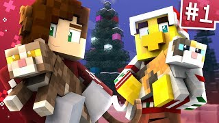 Pushing Christmas Cats w/ Sqaishey! | Minecraft Advent Calendar