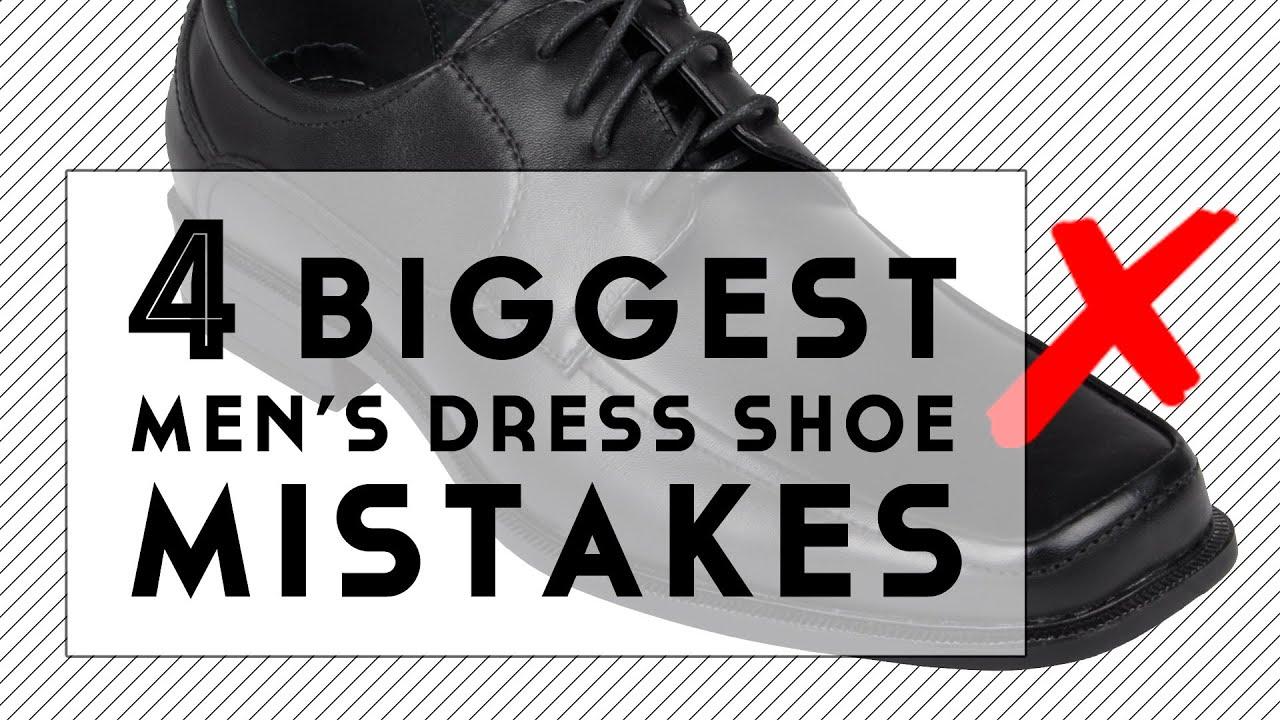 The 4 Biggest Men's Dress Shoe Mistakes