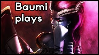 dota 2   minute 1 level 5   baumi plays queen of pain