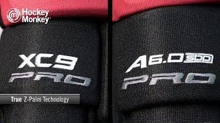 True A6.0 SBP Pro & XC9 Pro Hockey Gloves