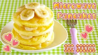 WAKODO Microwave Pancakes (for Babies and Adults on diet) - OCHIKERON - CREATE EAT HAPPY