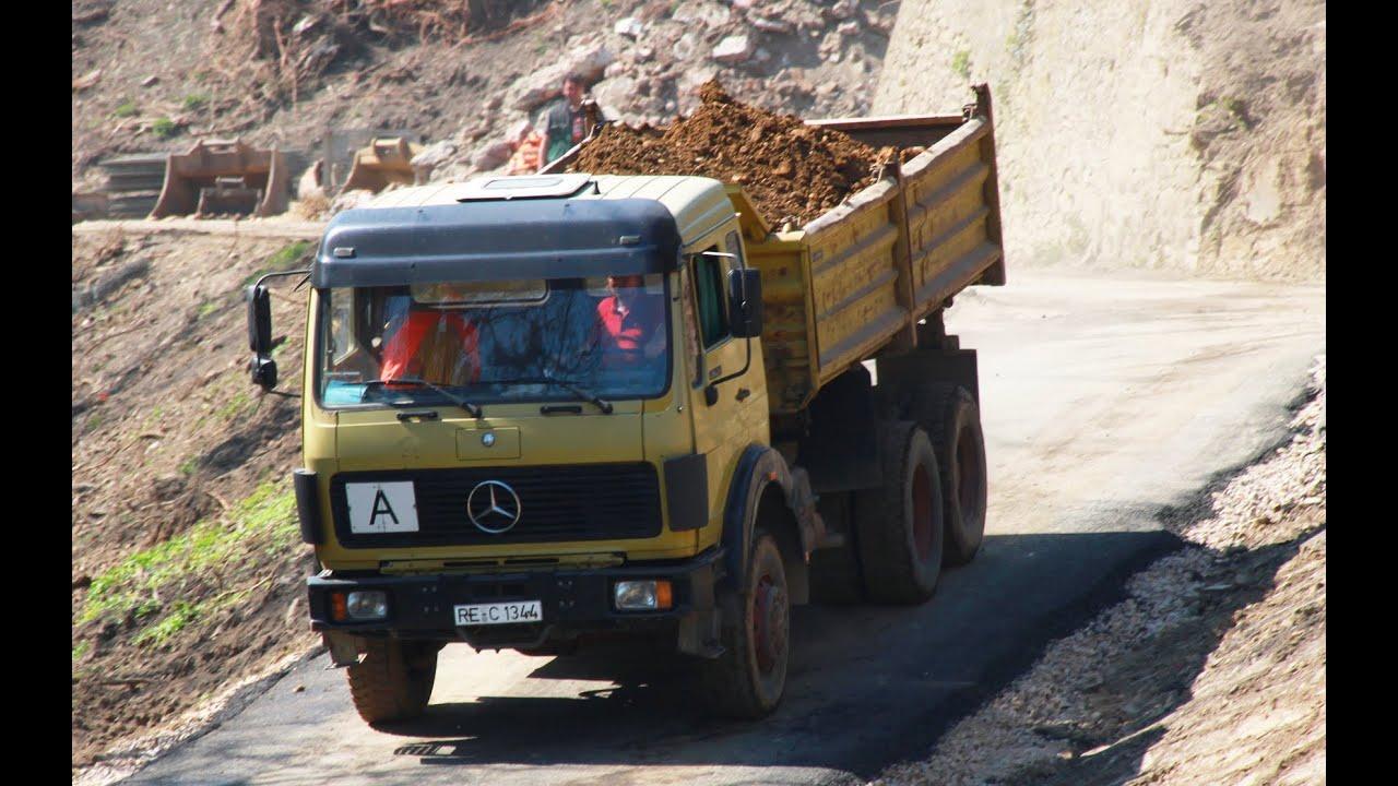 Mercedes-Benz 2632 Oldtimer LKW Trecker Mit Hänger
