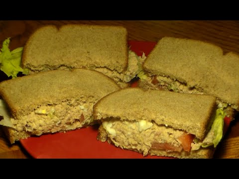 How To Make The BEST Tuna Salad Sandwich: Easy Delicious Tuna Fish Recipe