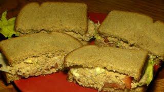 How To Make The BEST Tuna Salad Sandwich: Easy Delicious Tuna Fish Recipe