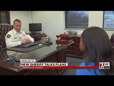 New Greenville County Sheriff