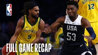 USAB Men's National Team vs. Australian Boomers Team Exhibition | August 24, 2019