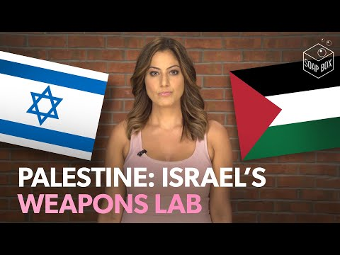 How did Palestine become Israel's weapons testing lab?
