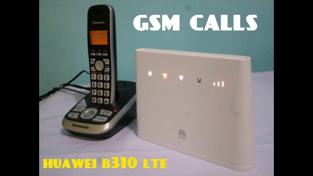 Mdem Router Huawei B310 Lte Funcin Llamadas De Voz Gsm Youtube Modem 4g