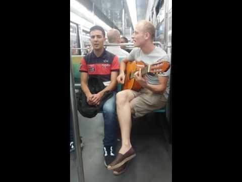Ghilas dans métro de Paris