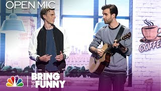 Musical Act Harry & Chris Perform in the Open Mic Round - Bring The Funny (Open Mic)