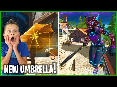 THE NEW UMBRELLA SWORD IS AWESOME!