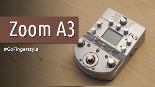 Обзор гитарного процессора для акустики Zoom A3