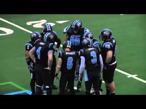 2013 Dayton Sharks vs Port Huron Patriots - CIFL Week 2