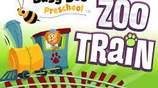Zoo Train by Busy Bee Studios - Best iPad app demo for kids