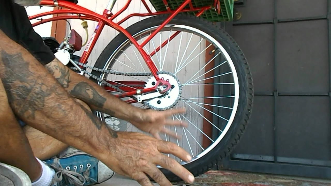 Fast Lesson in Gear Ratios for a Motorized Bicycle