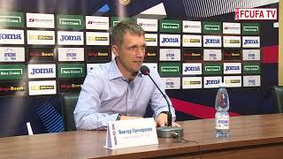 Пресс-конференция Виктора Гончаренко и Сергея Томарова после матча «Уфа» – ЦСКА