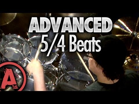 5/4 Drum Beats - Advanced Drum Lessons