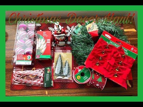 Family Dollar Christmas Hours.Mini Christmas Haul Dollar Tree Family Dollar 2018