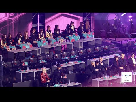 BTS X IZ*ONE X 뉴이스트 W React To GOT7 (Miracle + From Now + LOOK) [4K 직캠]@190106