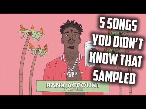 5 SONGS YOU DIDN'T KNOW THAT SAMPLED