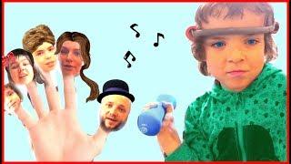 Gambar cover Makar Canción de la familia Finger Family song   Bebé Inglés rimas