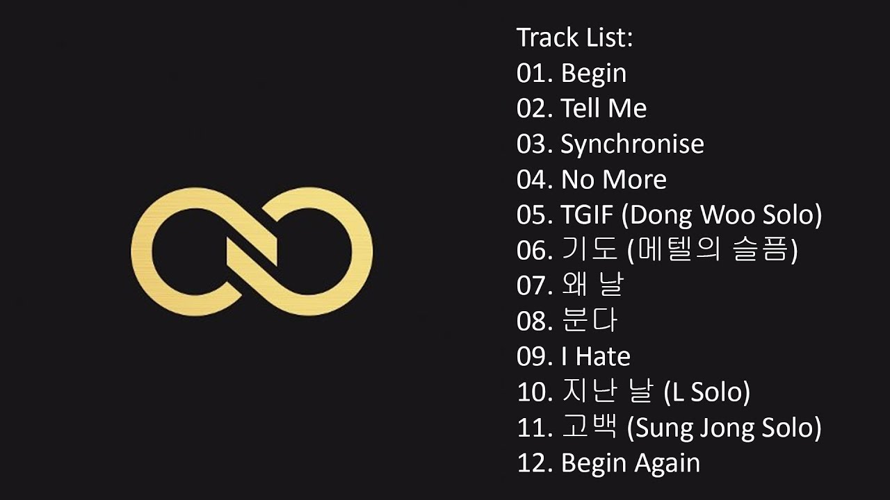 Full Album] INFINITE – TOP SEED (Album) - YouTube