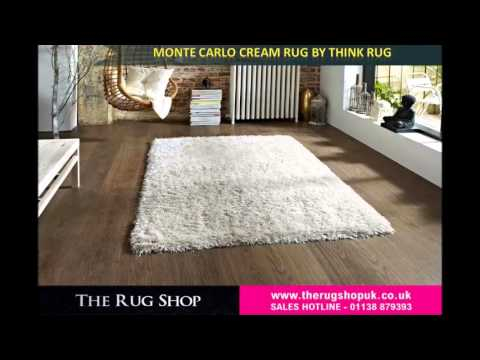 Monte Carlo Shaggy Rugs by Think Rugs