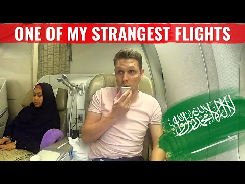 Review: SAUDI ARABIAN AIRLINES very STRANGE BUSINESS CLASS E
