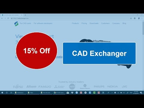 15% Off CAD Exchanger Discount Coupon 2019