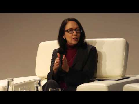 Sen. Maria Cantwell at the GeekWire Summit