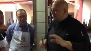 Мастер класс с лучшим итальянским поваром Бруно
