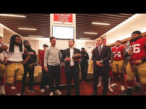 Jed York Shares Emotional Postgame Speech Following The Loss Of His Brother Tony
