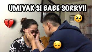 REMOVING BABE's MAKE UP!(Umiyak sya!!) | Roi Oriondo