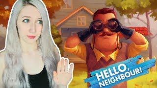 გავრბივარ გიჟი მეზობლისგან! Hello Neighbour