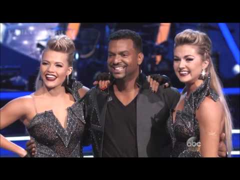 Alfonso Ribeiro & Witney  PasoDoble  Lindsay  DWTS  Week 9