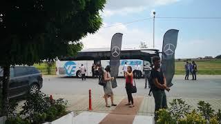 Mercedes-Benz Yeni Tourismo ile Öğlen Yemeğine Gittik