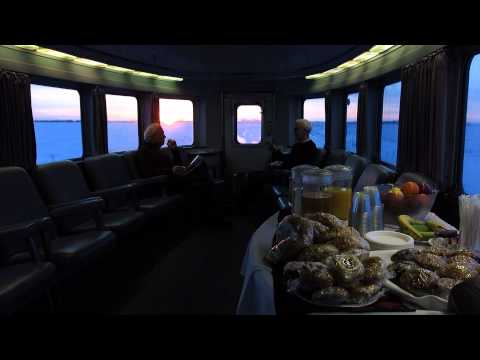 VIA Rail Canadian, Train 1, Winter 2015 [HD]